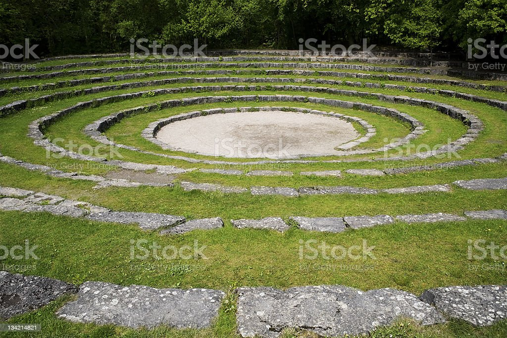 Outdoor amphitheater royalty-free stock photo