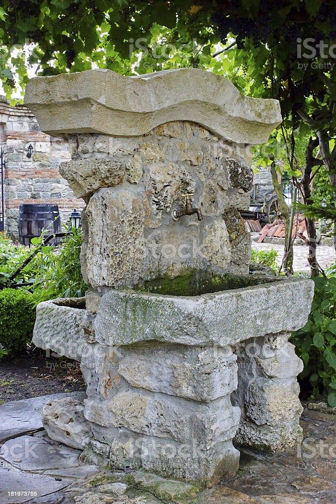 Photo libre de droit de Extérieur Et Un Mobilier De Jardin Old ...