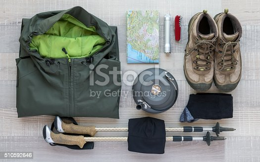 istock Outdoor and Hiking Equipment 510592646