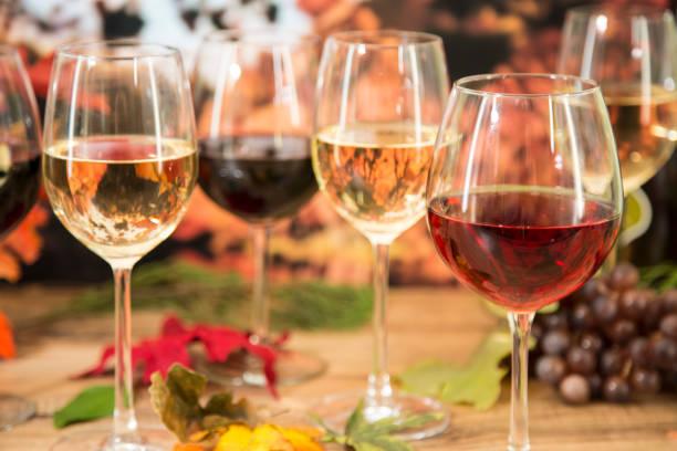 Outdoor autumn wine tasting event with fall leaves picture id857037820?b=1&k=6&m=857037820&s=612x612&w=0&h=v8bojaqzqqruc wpzx6ebawlxwj2eoixiorouauje4i=