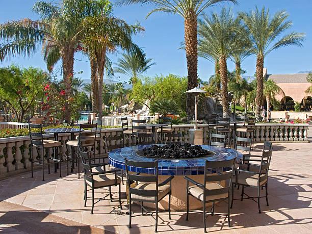 Outdoor Bar stock photo