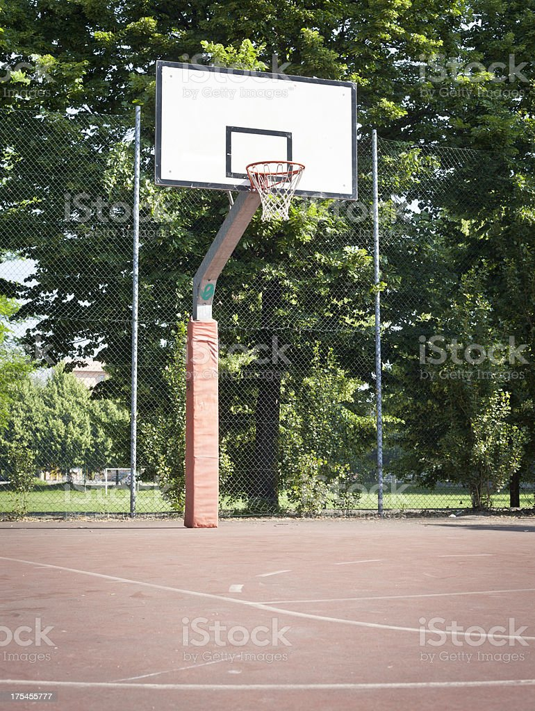 Outdoor Basket Field royalty-free stock photo