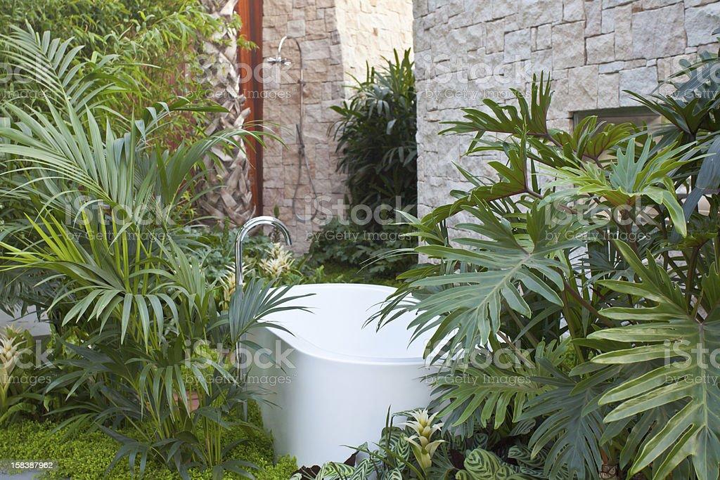Badezimmer im Freien – Foto