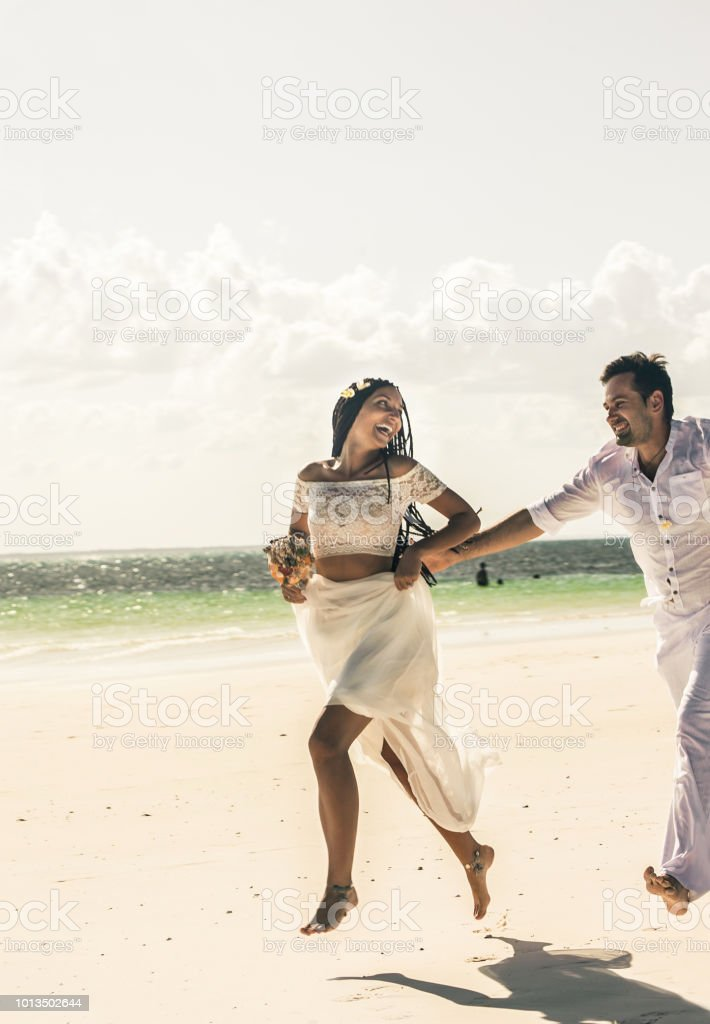 Outdoor Beach Wedding Ceremony Near The Sea Stock Photo   Download Image Now