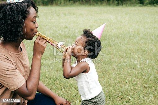 istock Outdoor birthday celebration 808552568