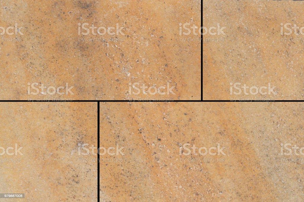 Outdoorbraun Steinboden Fliesen Muster Und Hintergrund Stock