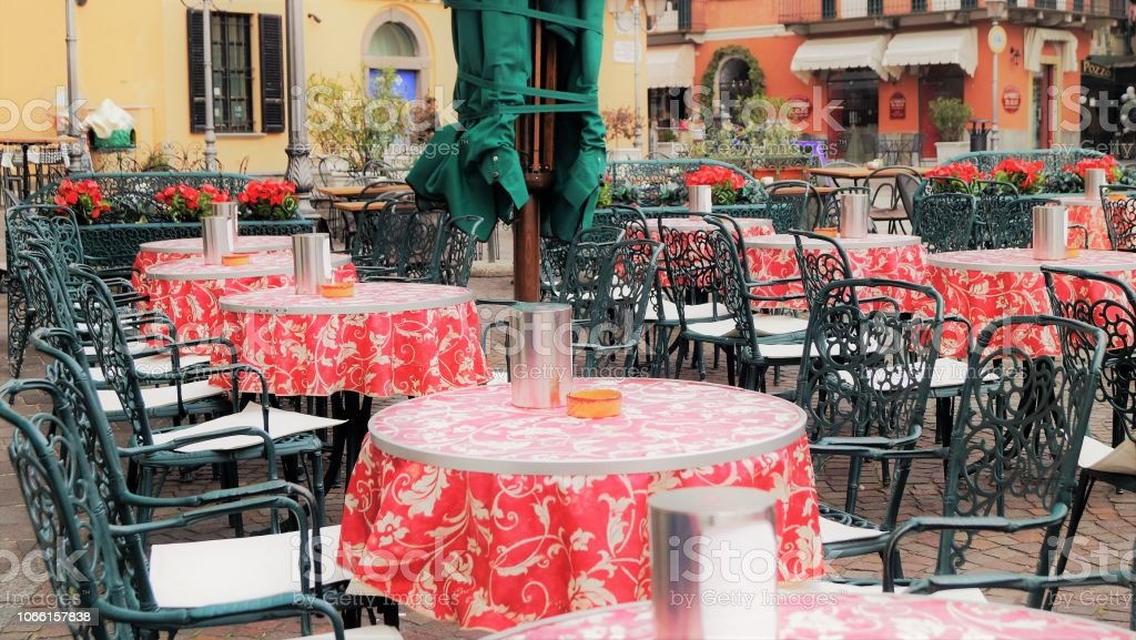 Outdoor Cafe Stock Photo Download Image Now Istock