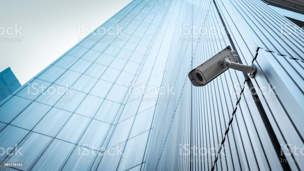 Buiten CCTV Security camera​​​ foto