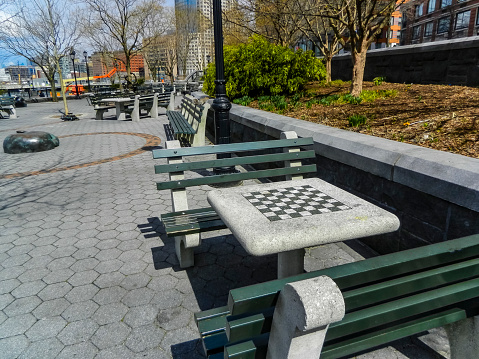 istock Outdoor Chessboard in Park 1086455142