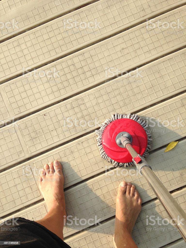outdoor chores - Royalty-free 2015 Stock Photo