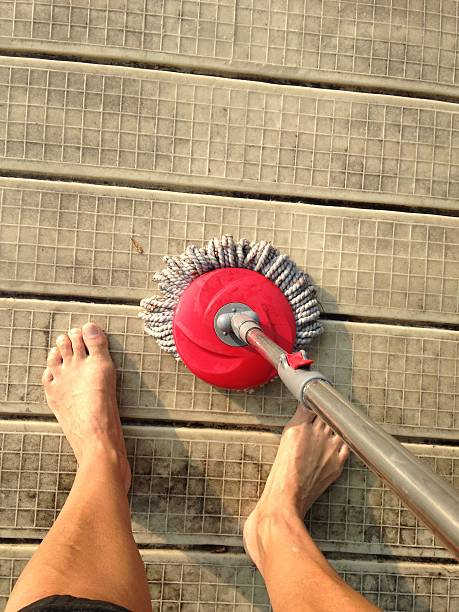 outdoor cleaning stock photo