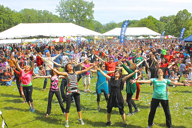 Outdoor community festival