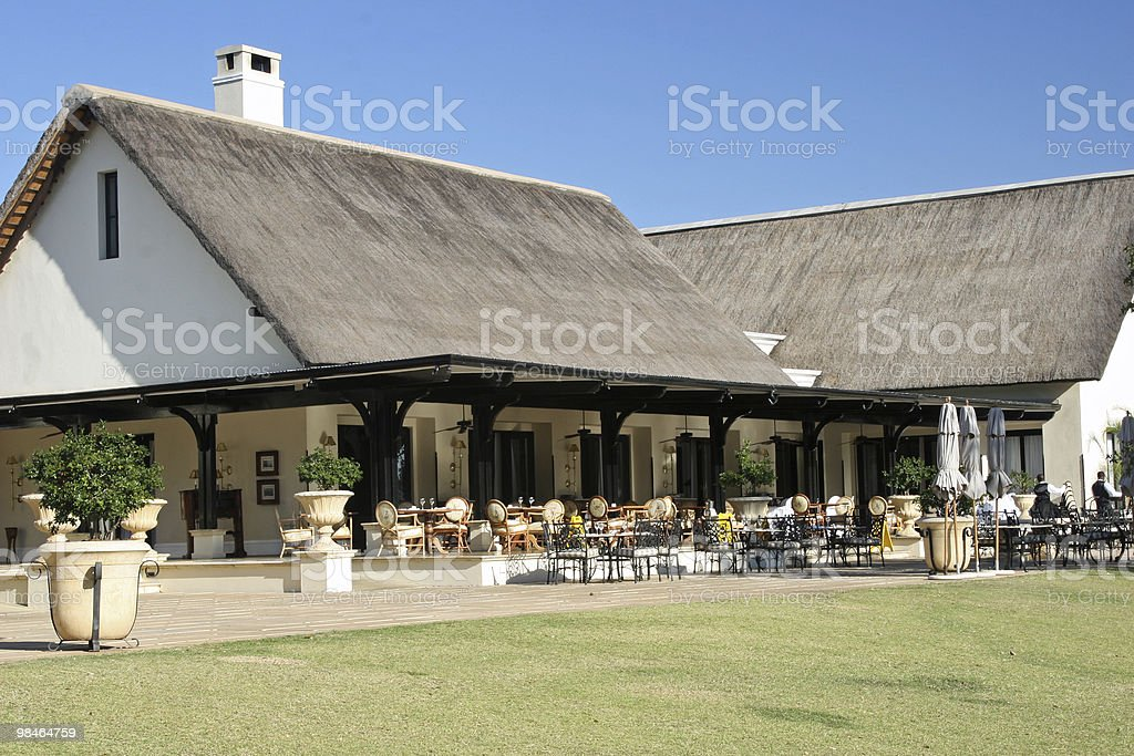 Outdoor Dining royalty-free stock photo