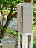 Electricity, Outdoors, Power Line, Box - Container, Control