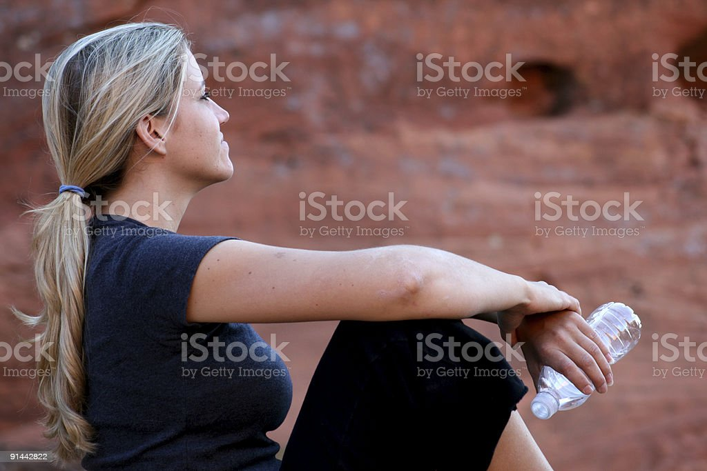 Outdoor Enjoyment (Utah RedRockalypse) stock photo