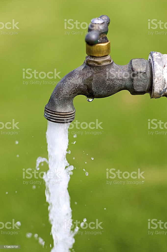 Outdoor Faucet royalty-free stock photo