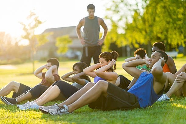 Fitness im Freien – Foto
