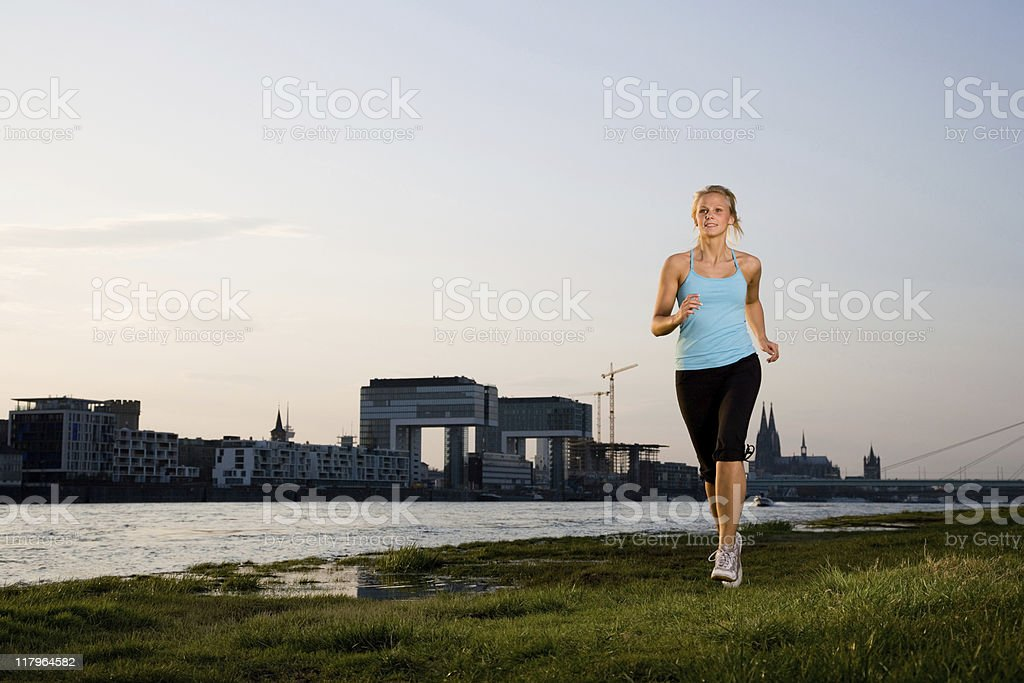 Outdoor Fitness Series royalty-free stock photo