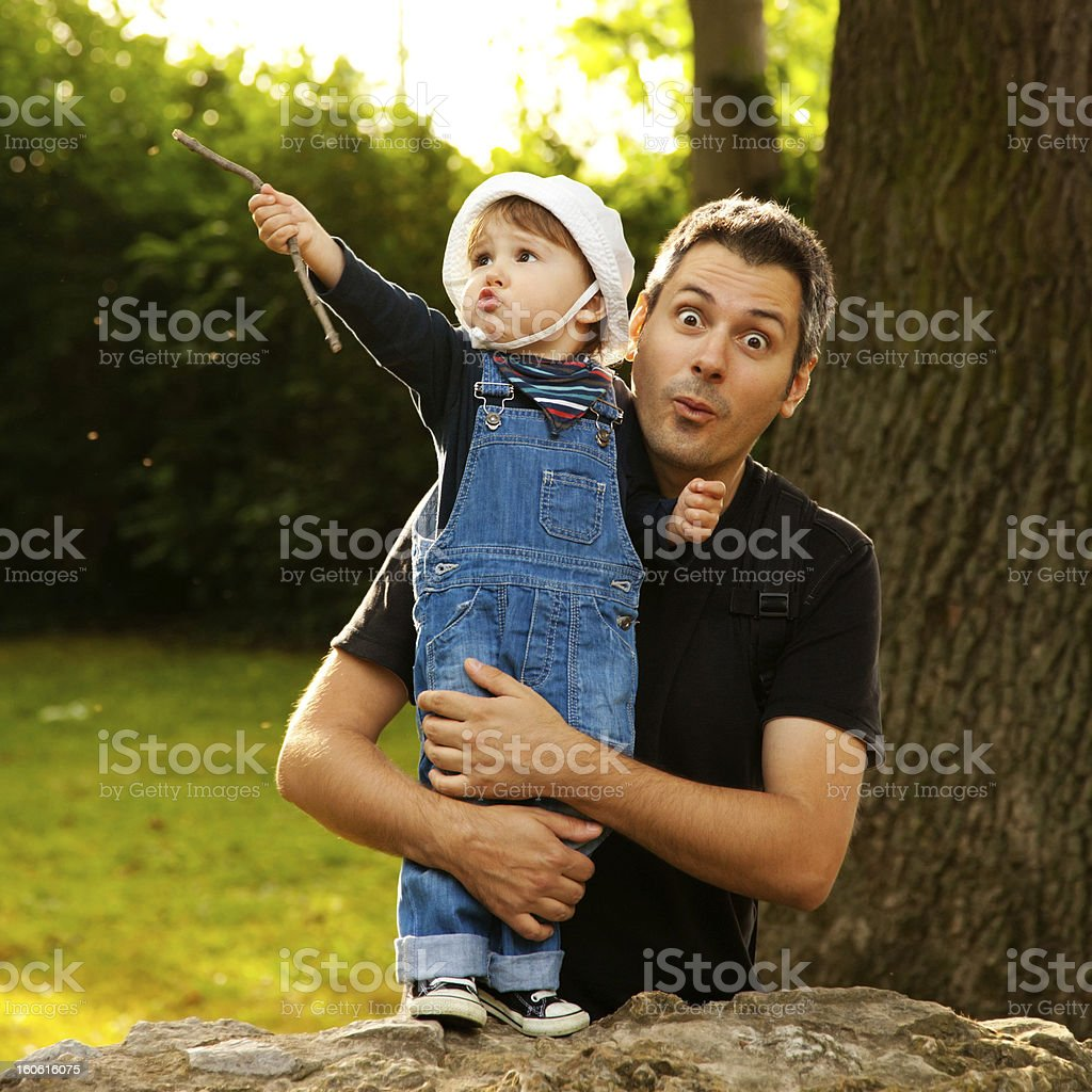 Outdoor fun royalty-free stock photo