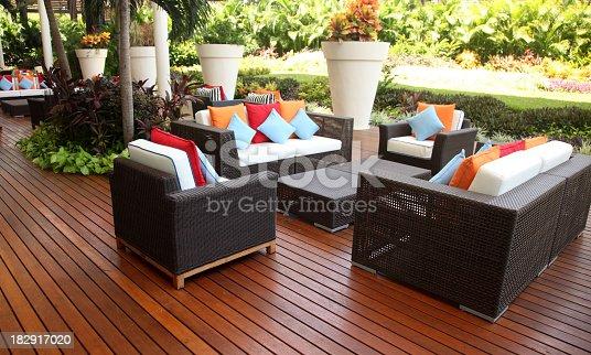 istock Outdoor furniture 182917020