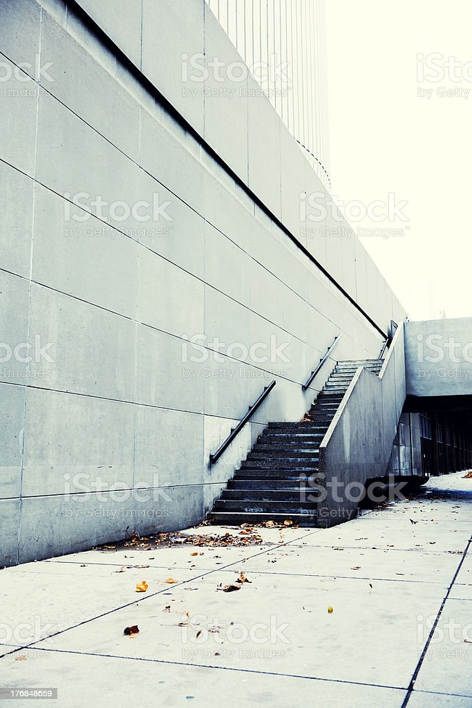 Outdoor Geometry, Architecture Lines royalty-free stock photo
