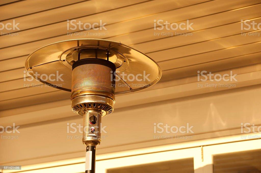 Outdoor Heater stock photo