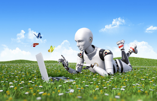 Outdoor Internet Surfing Stock Photo - Download Image Now