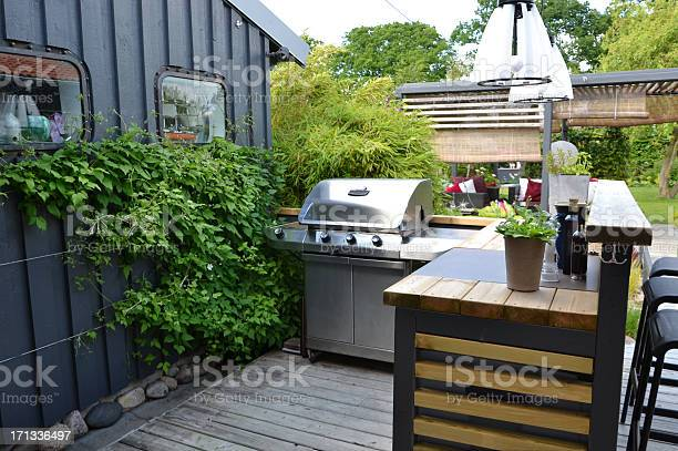 Outdoor kitchen with a stainless gas grill picture id171336497?b=1&k=6&m=171336497&s=612x612&h=cpbii0wyommqgutdq3pui0rc9mdcvoqveftd fgi0tk=