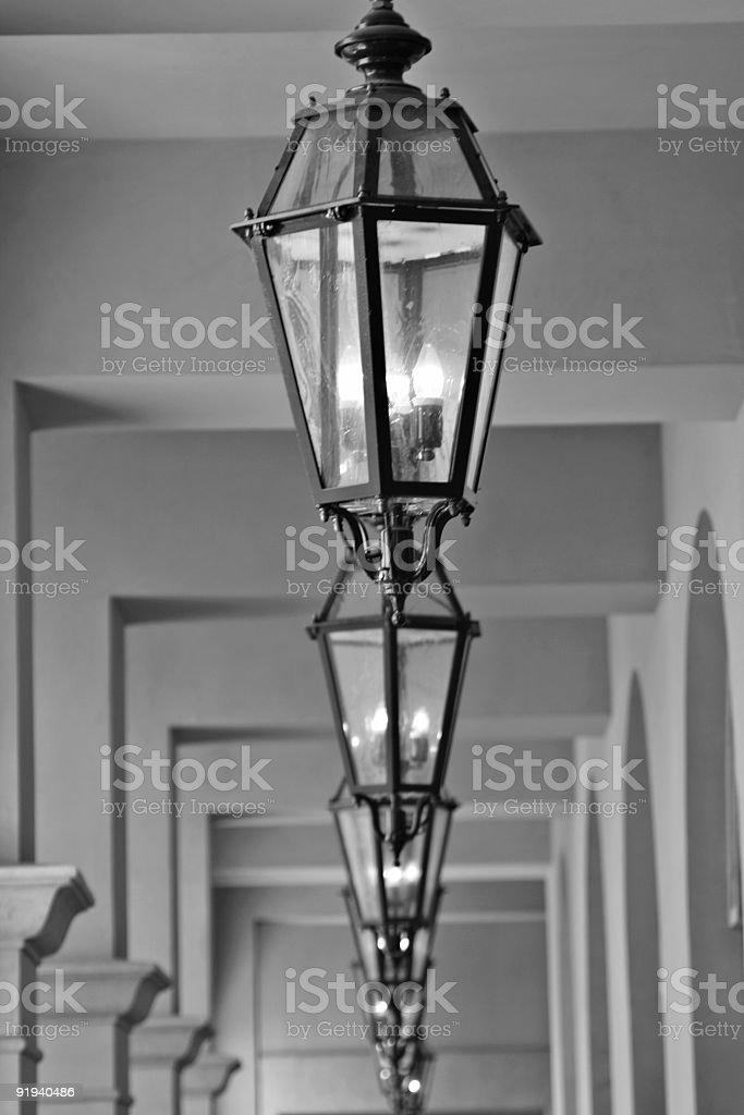 Outdoor light fixtures royalty-free stock photo