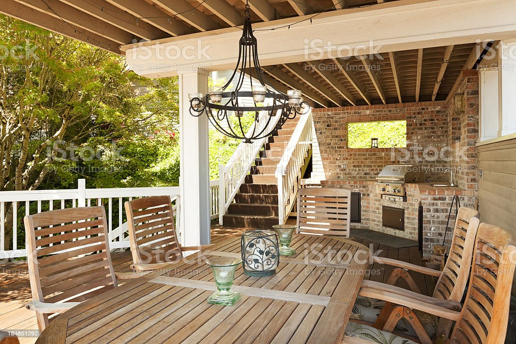 Outdoor Living stock photo