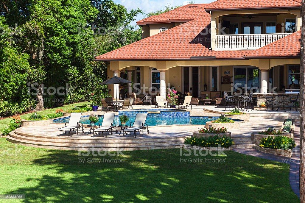 Outdoor Living stock photo