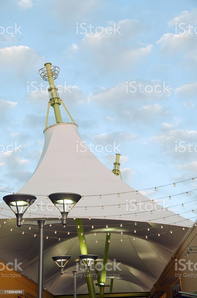 Outdoor Mall Architecture stock photo
