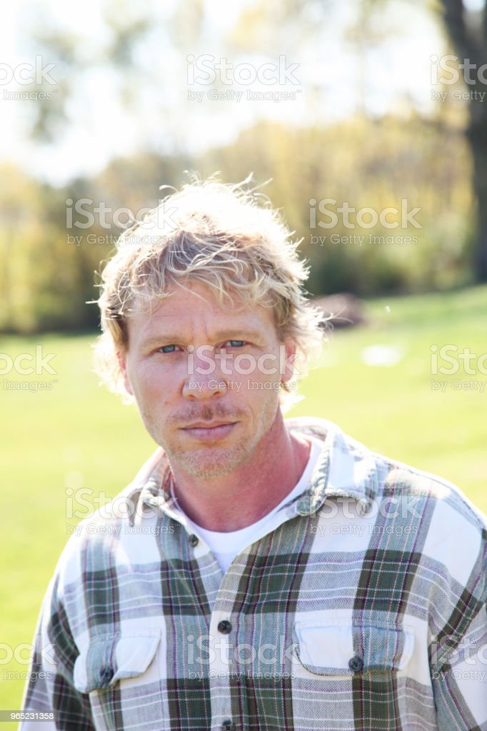 outdoor man royalty-free stock photo