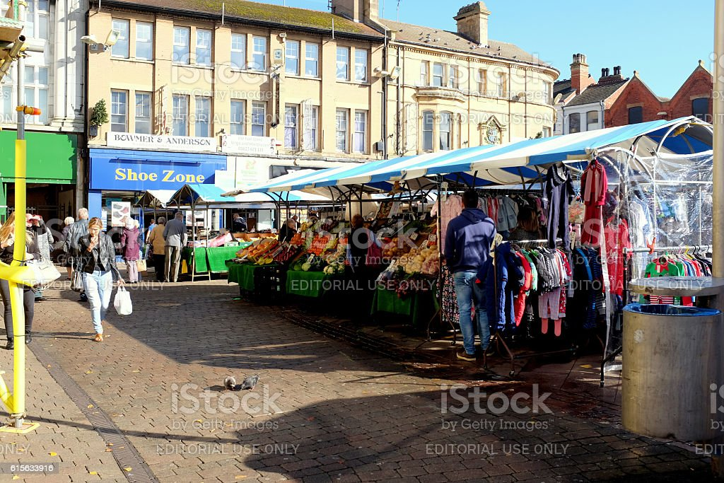 Outdoor Market. stock photo