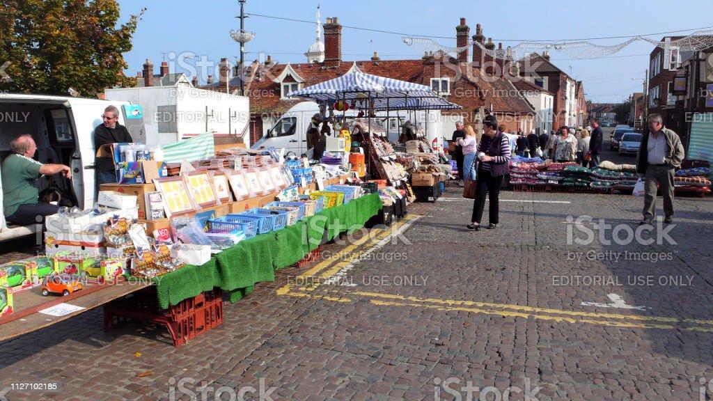 Sheringham, Norfolk, UK. October 10, 2007. Tourists and holidaymakers...
