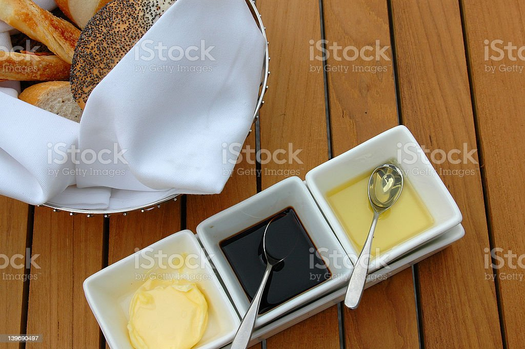 outdoor meal royalty-free stock photo