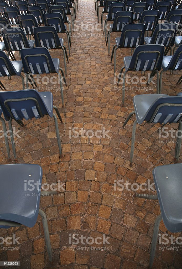 Outdoor Meeting. royalty-free stock photo