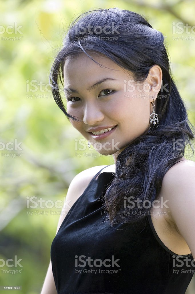 Outdoor Model 4 royalty-free stock photo