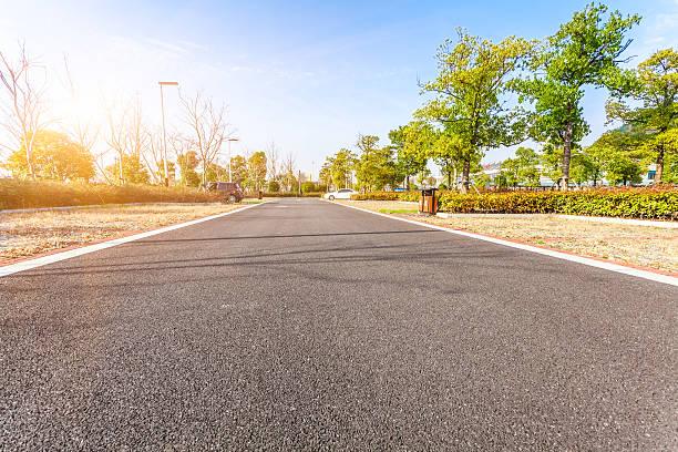 Parkplätze im Freien road – Foto