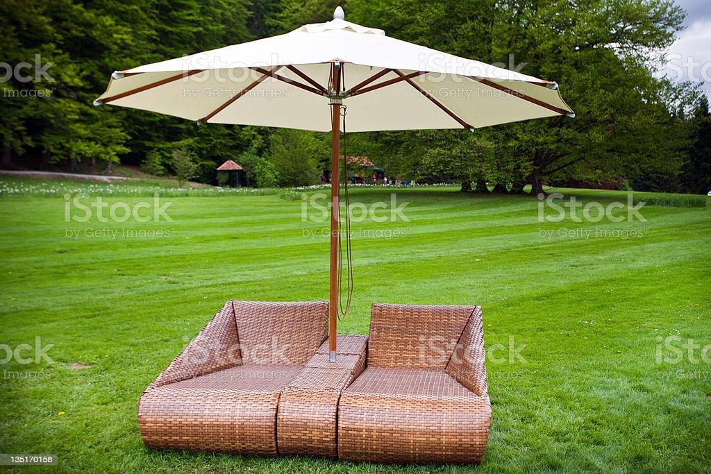 Outdoor Patio royalty-free stock photo