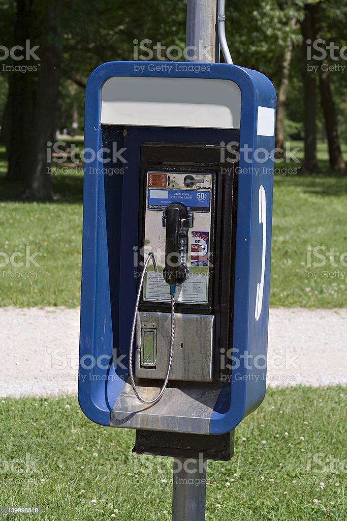Outdoor Pay Telehone royalty-free stock photo