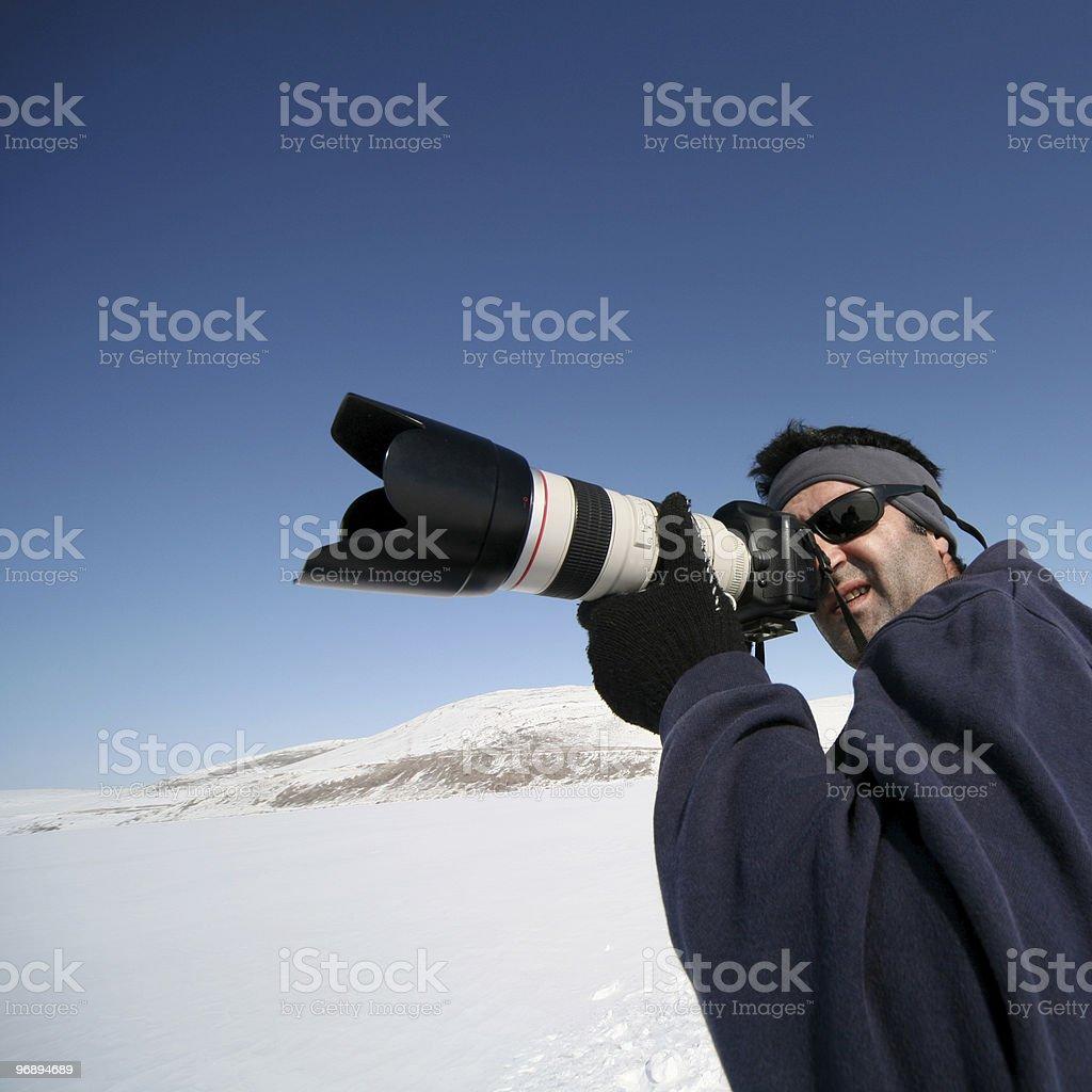 Outdoor photographer royalty-free stock photo