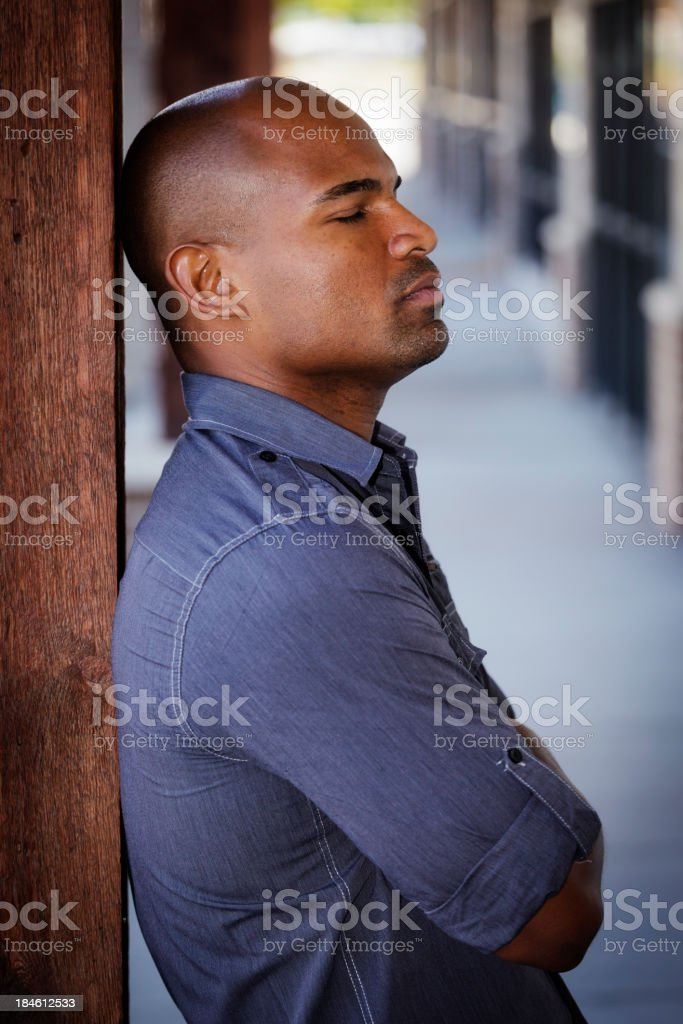 Outdoor Portrait royalty-free stock photo