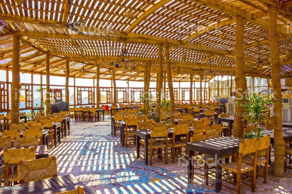 Sharm El Sheikh Egypt September 24 2017 Outdoor Restaurant And Beach At The Luxury Hotel Sharm El Sheikh Egypt Stock Photo Download Image Now Istock