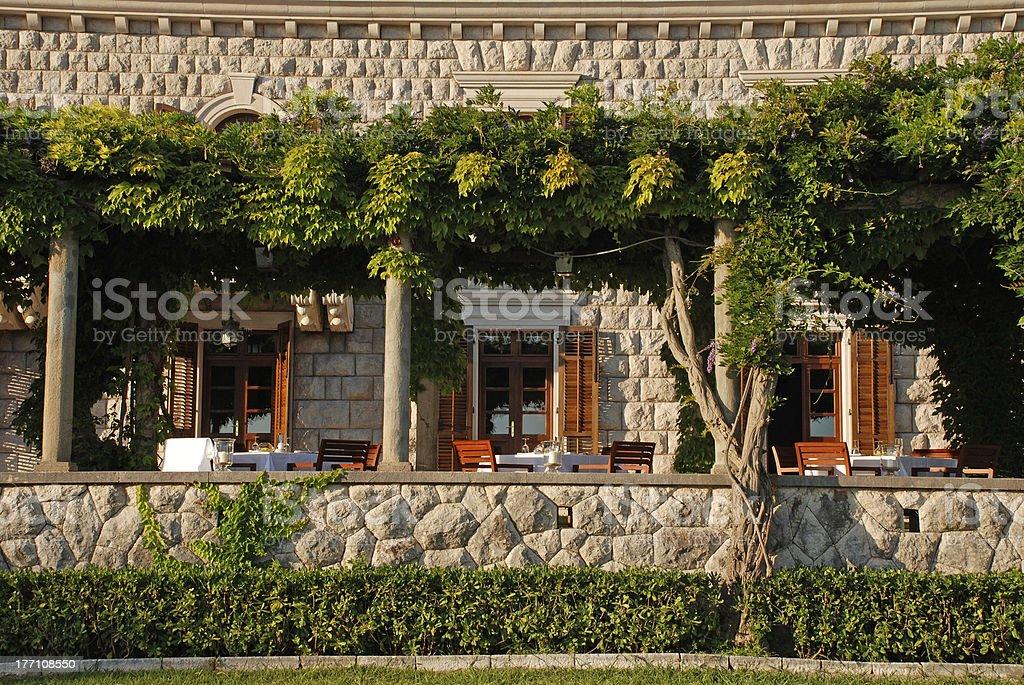 Outdoor Restaurant Terrace Stock Photo Download Image Now Istock