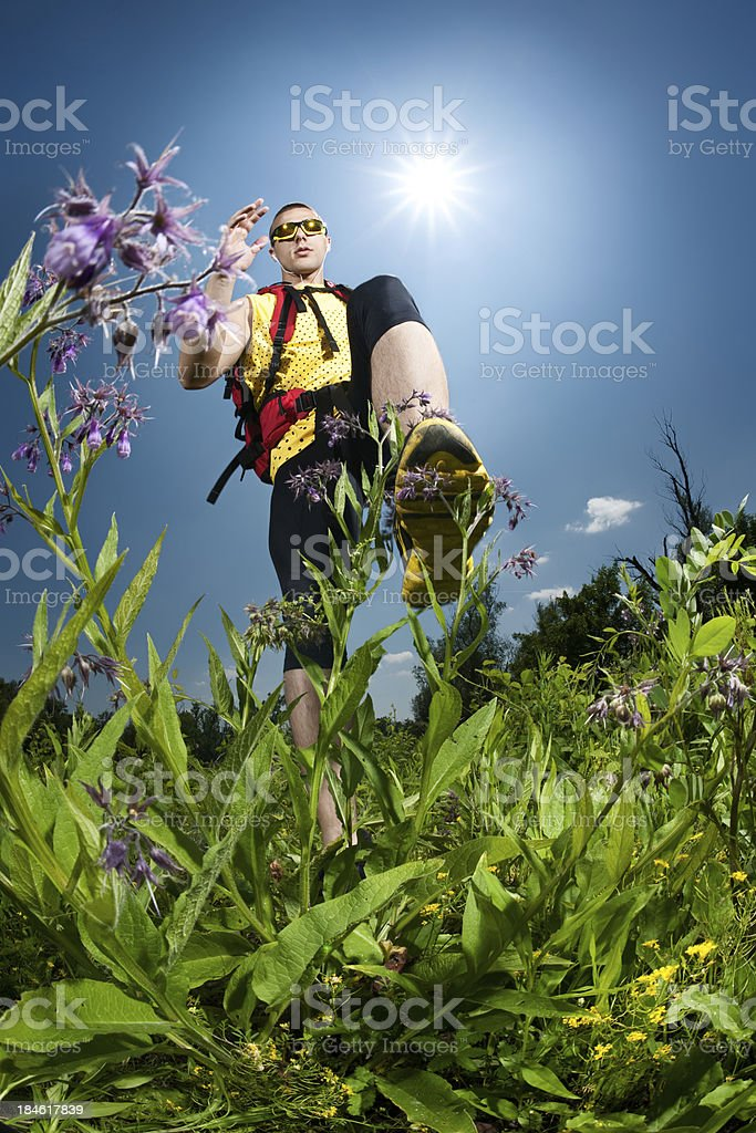 Outdoor Runner royalty-free stock photo