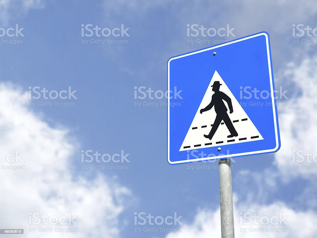 Outdoor Sign royalty-free stock photo