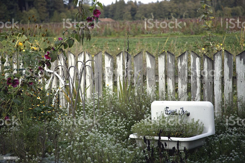 Outdoor Sink 0002 royalty-free stock photo