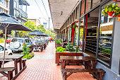 istock Outdoor street cafe restaurant  in Maboneng, Johannesburg 1219602780