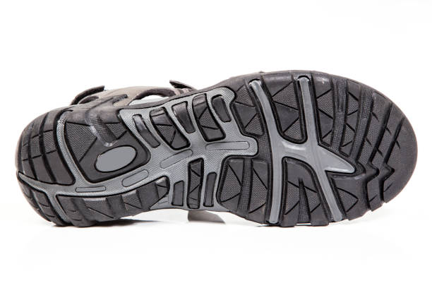 Outdoor styles shoes. stock photo